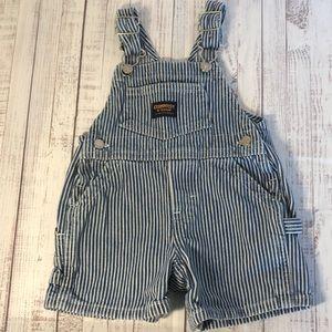 OshKosh B'gosh Overalls (Shorts) 3-6M Stripes
